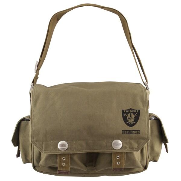 Little Earth Oakland Raiders Prospect Messenger Bag