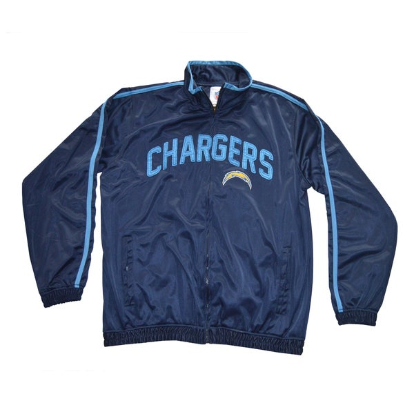 San Diego Chargers Club Seats: Shop San Diego Chargers NFL Track Jacket