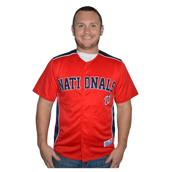 Washington Nationals MLB Embroidered Jersey
