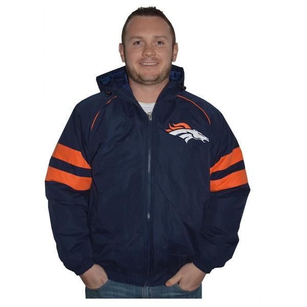 Denver Broncos NFL Heavyweight Hooded Jacket