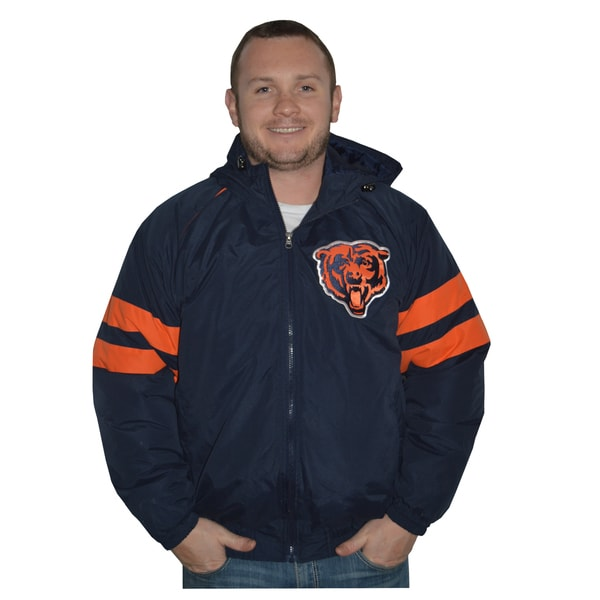 Chicago Bears NFL Heavyweight Hooded Jacket