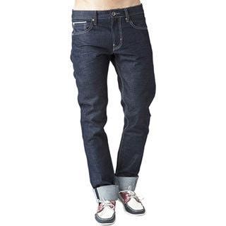 Simple Living High Thinking Men's Raw Denim Jeans