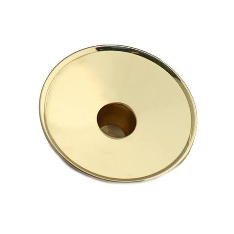 Brass Pillar Adapter - Gold