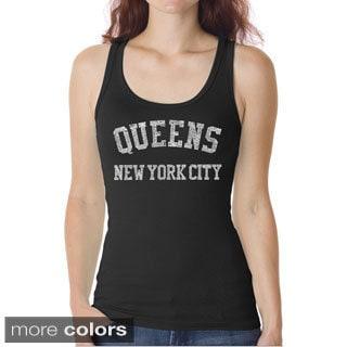 Women's Queens Neighborhoods Tank Top