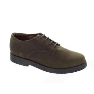 Academic Gear Boys' Leather School Shoes|https://ak1.ostkcdn.com/images/products/9602705/P16788548.jpg?impolicy=medium