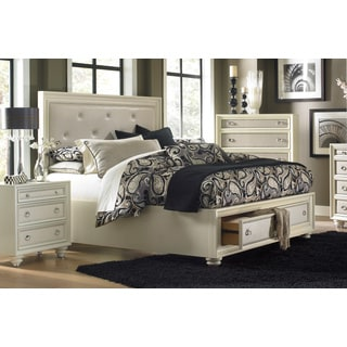 Magnussen Diamond Island Bed w/ Storage