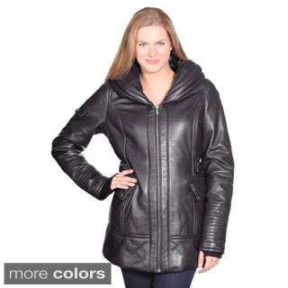 Christian Reed Women's Vivian Leather Coat
