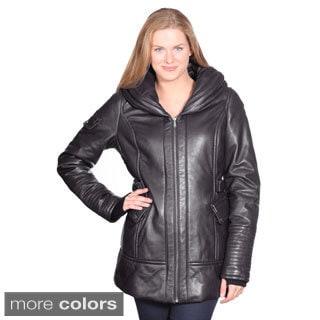 Christian Reed Women's Vivian Leather Coat