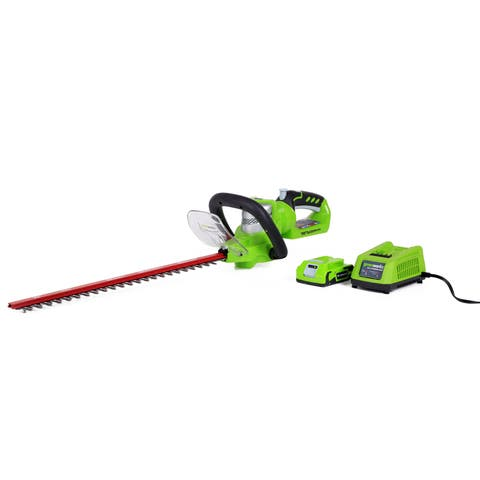 GreenWorks 22232 22-inch Cordless Hedge Trimmer
