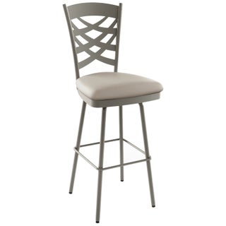 Amisco Nest 26-inch Metal Swivel Counter Stool