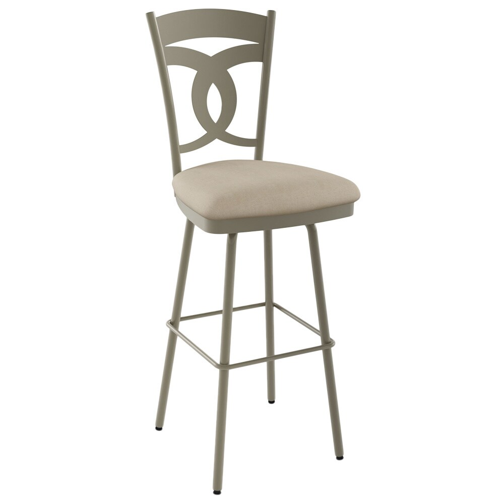 Surprising Amisco Valley 26 Inch Metal Swivel Counter Stool Bralicious Painted Fabric Chair Ideas Braliciousco