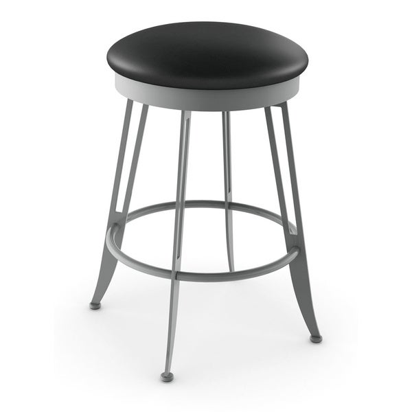 Shop Amisco Phylo Swivel Metal Counter Stool Free