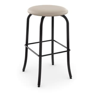 Amisco Flare Swivel Metal Counter Stool