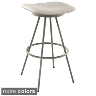 Amisco Beacon 26-inch Metal Swivel Counter Stool
