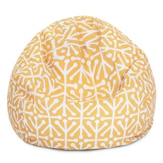 Majestic Home Goods Aruba Classic Bean Bag Chair Small/Large