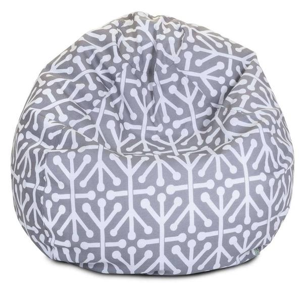 shop majestic home goods aruba small classic bean bag on sale free shipping today. Black Bedroom Furniture Sets. Home Design Ideas