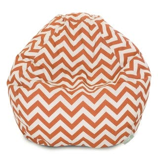 bbcfb3ee9f2b Buy Orange Bean Bag Chairs Online at Overstock