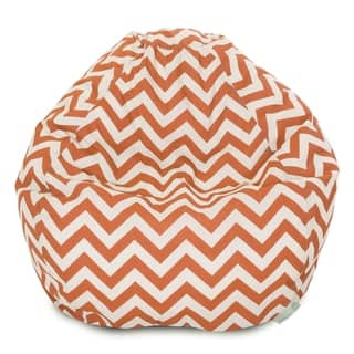 Majestic Home Goods Chevron Small Classic Bean Bag