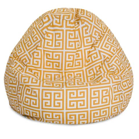 Buy Large Size Yellow Bean Bag Chairs Online At Overstock