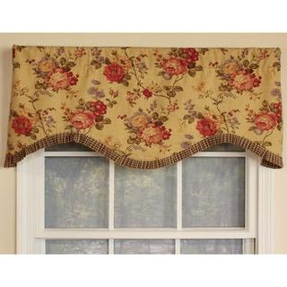 Ellington Cornice Cotton Window Valance - 50 x 17