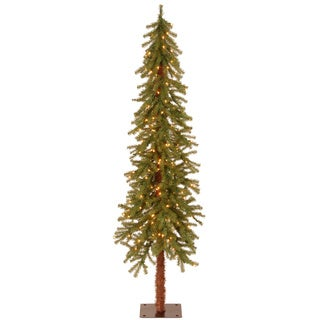 6-foot Hickory Cedar Tree with 200 Clear Lights
