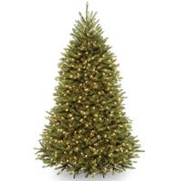 7-foot Dunhill Fir Hinged Tree with 700 Clear Lights