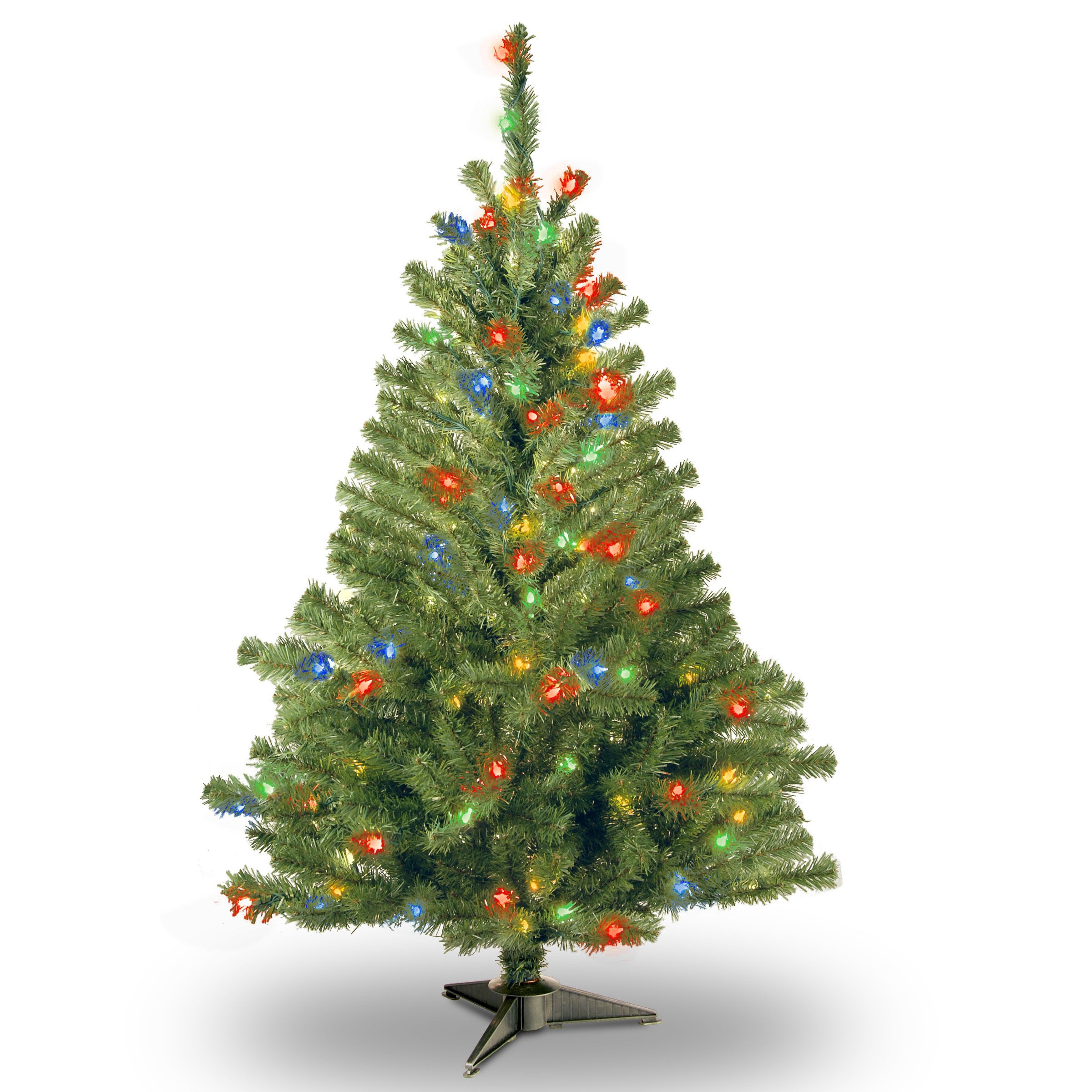 Artificial Christmas Tree Kincaid Spruce 100 Multi-Color String ...