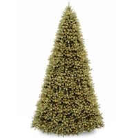 12-foot Downswept Douglas Fir Tree with Clear Lights