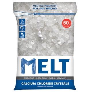 Snow Joe Ice Melt 50-pound Resealable Bag Calcium Chloride Crystals