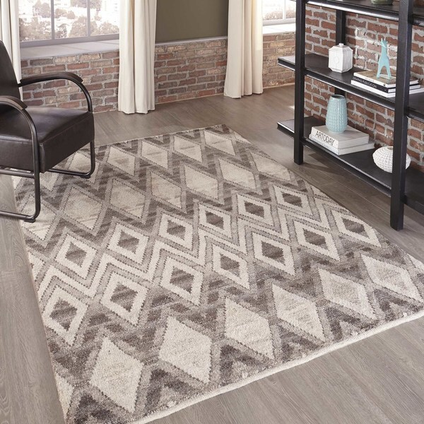 "Momeni Atlas Natural Hand-Knotted Wool Area Rug (9'6 x 13'6) - 9'6"" x 13'6"""