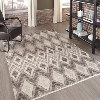 Momeni Atlas Natural Hand-Knotted Wool Area Runner Rug (2'3 x 8')