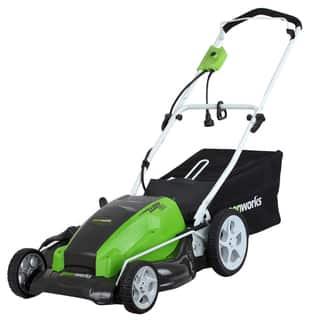 GreenWorks 25112 13 Amp 21-Inch Lawn Mower|https://ak1.ostkcdn.com/images/products/9603249/P16789397.jpg?impolicy=medium