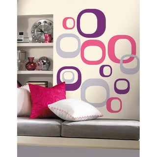 Modern Ovals Peel and Stick Wall Decals