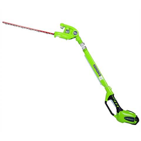 GreenWorks 22272 G-MAX 40V Li-Ion 24-Inch Cordless Pole Hedge Trimmer