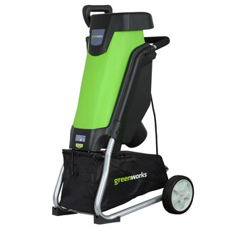 GreenWorks 24052 15 Amp Corded Shredder/Chipper