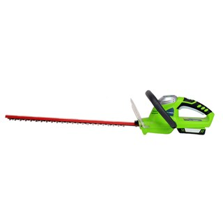 Greenworks 22172 Compact 20V 20-Inch Hedge Trimmer - 20V 2 AH Battery and Charger Inc.