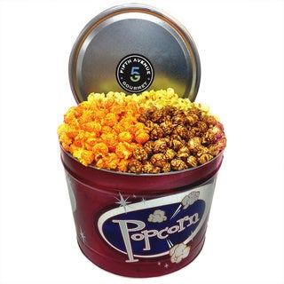 Fifth Avenue 2 Gallon Popcorn Trio Sampler Tin