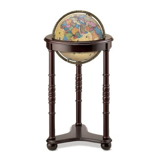Lancaster Illuminated Floor World Globe