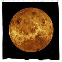Venus Globe Shower Curtain