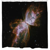 Butterfly Nebula Shower Curtain