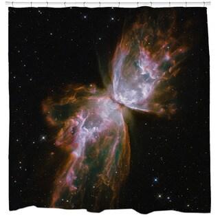 Butterfly Nebula Shower Curtain