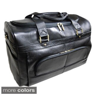 Castello Italian Leather 19-inch Travel Duffel Bag