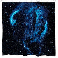 Cygnus Loop Nebula Shower Curtain