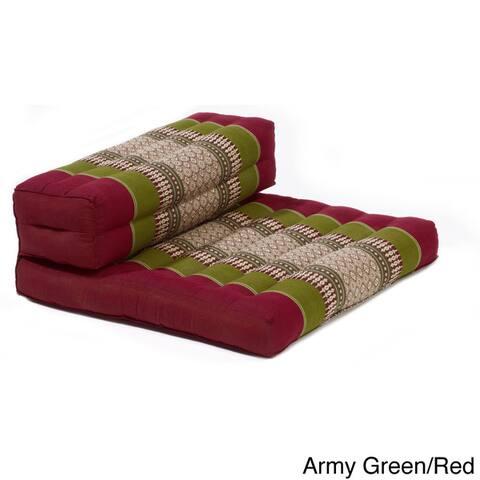 myZENhome Dhyana Cotton/Kapok Mindfulness Meditation Cushion and Chair