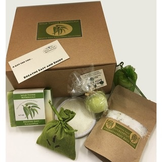 Handmade Breathe Easy Eucalyptus Spa Collection Gift Box