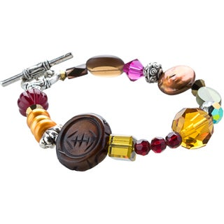 Kele & Co Multicolored Gemstone Bracelet