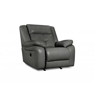 haines leather power recliner - free shipping today - overstock