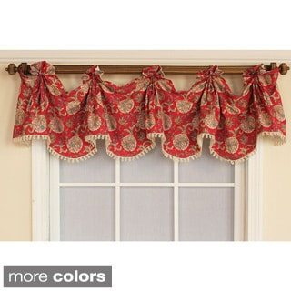 HonestyJuliet Swagged Window Valance