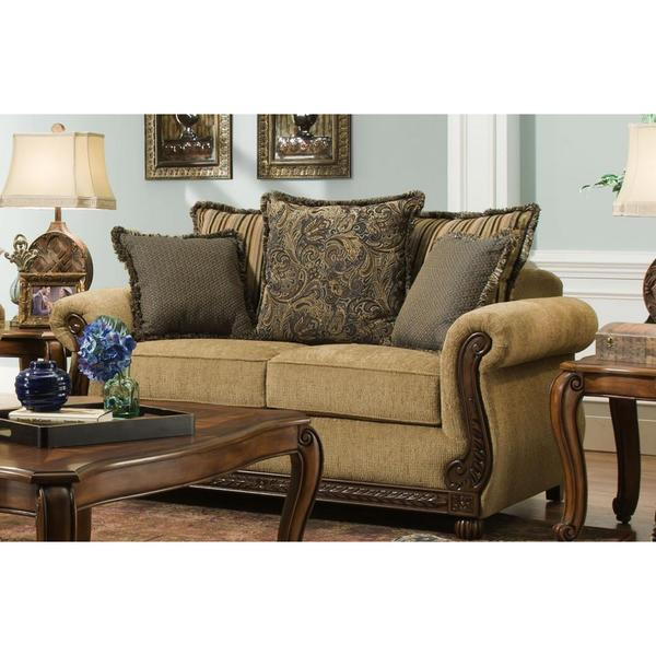 Made To Order Simmons Upholstery Outback Loveseat Free