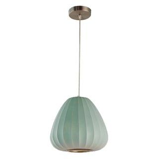 Legion Furniture Pendants 11-inch Blue Ceiling Cocoon Lamp